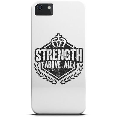 Чехол Strength above all