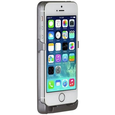 Чехол-аккумулятор Spigen MetPower для Apple iPhone 5/5S Серый